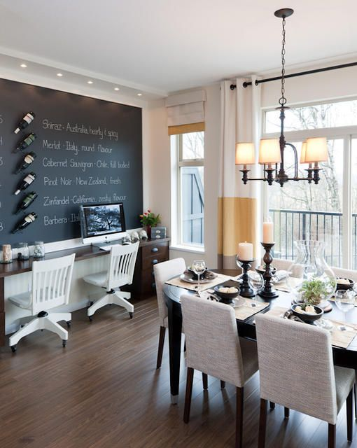 kinfield dining room new home dining room office multipurpose dining room dining room. Black Bedroom Furniture Sets. Home Design Ideas