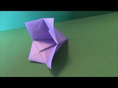 Bell flowerorigami origami virgok bell flowerorigami mightylinksfo