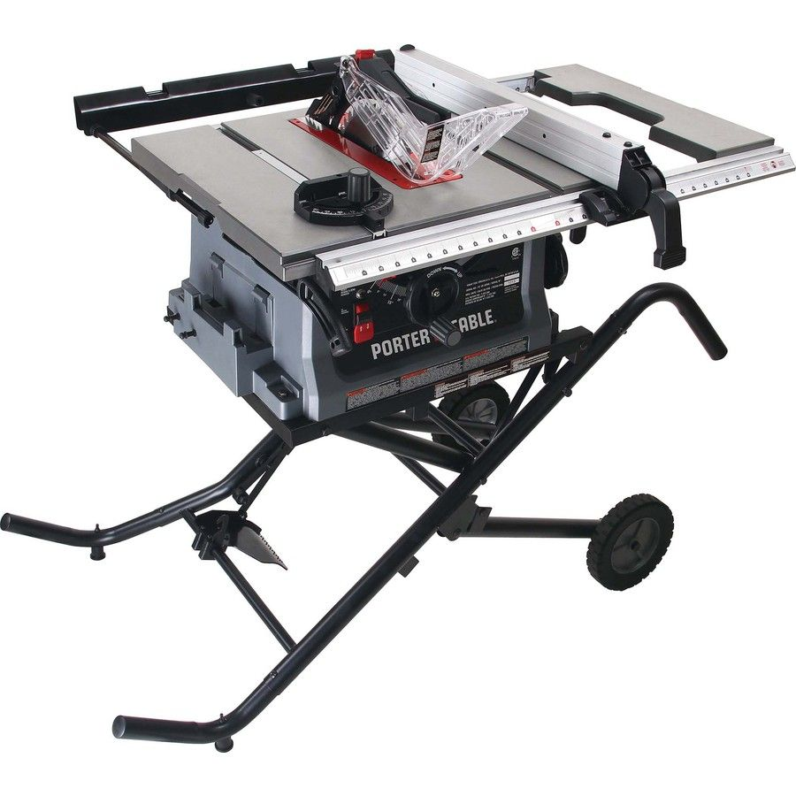 Porter Cable 15 Amp 10 In Table Saw Pcb222ts Porter Cable Jobsite Table Saw Table Saw