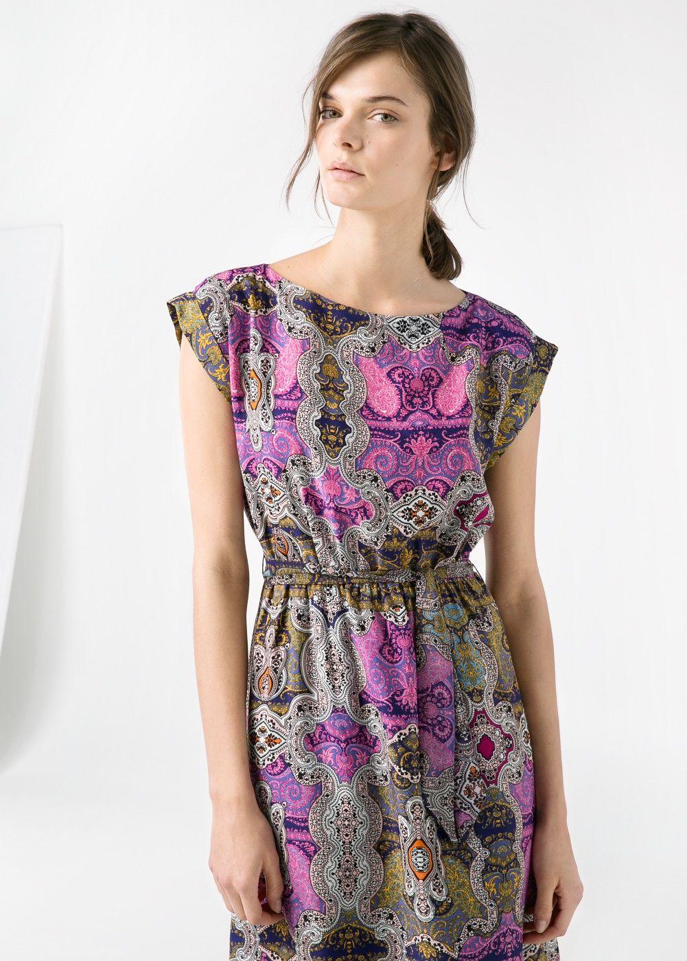 Kleid mit paisley-muster - Damen | Kleider für frauen ...