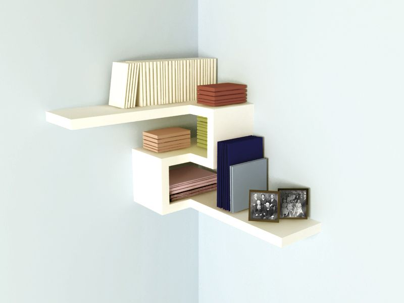 floating corner shelves design ideas to maximize your interiors
