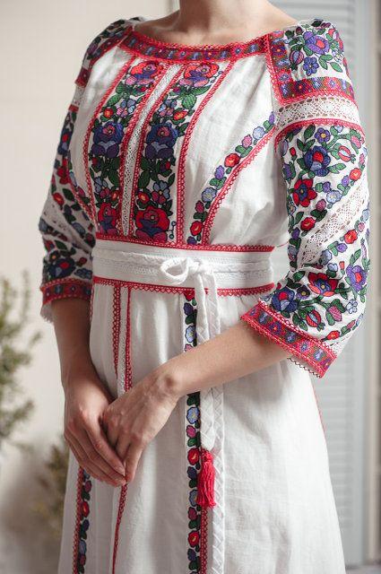 ba6a7a577f4f8c Дизайнерська сукня вишиванка | вышиванки | Modern embroidery ...