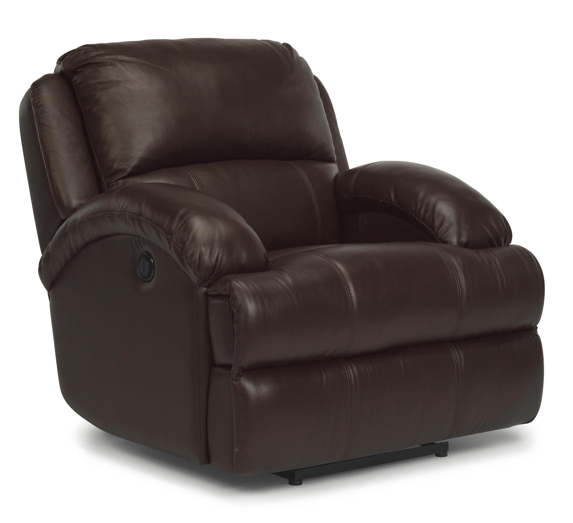Awesome Latitudes Fast Lane Leather Power Recliner By Flexsteel Caraccident5 Cool Chair Designs And Ideas Caraccident5Info