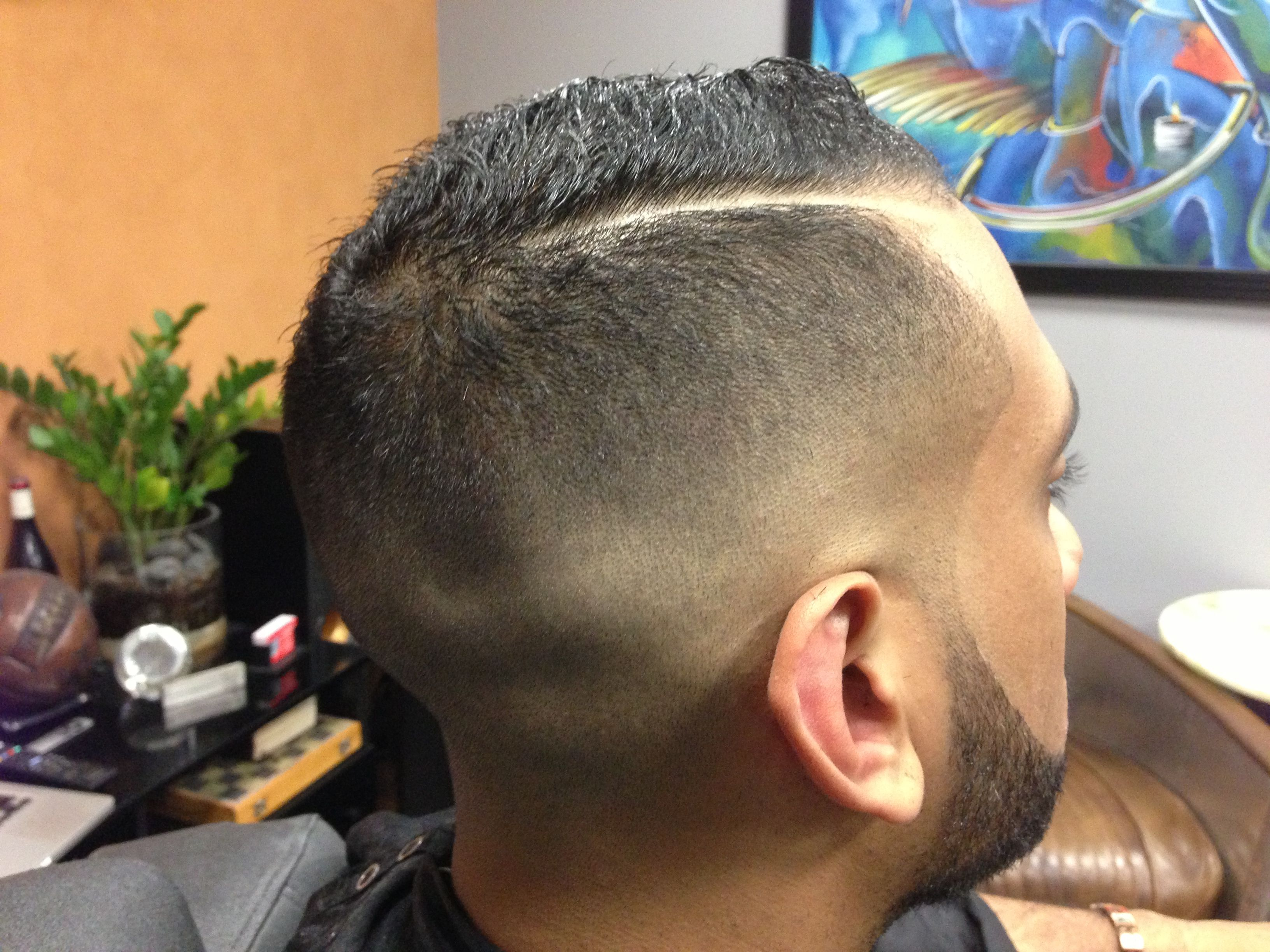 Combover Haircut By Bespoke Barbershop We Are The Only Upscale
