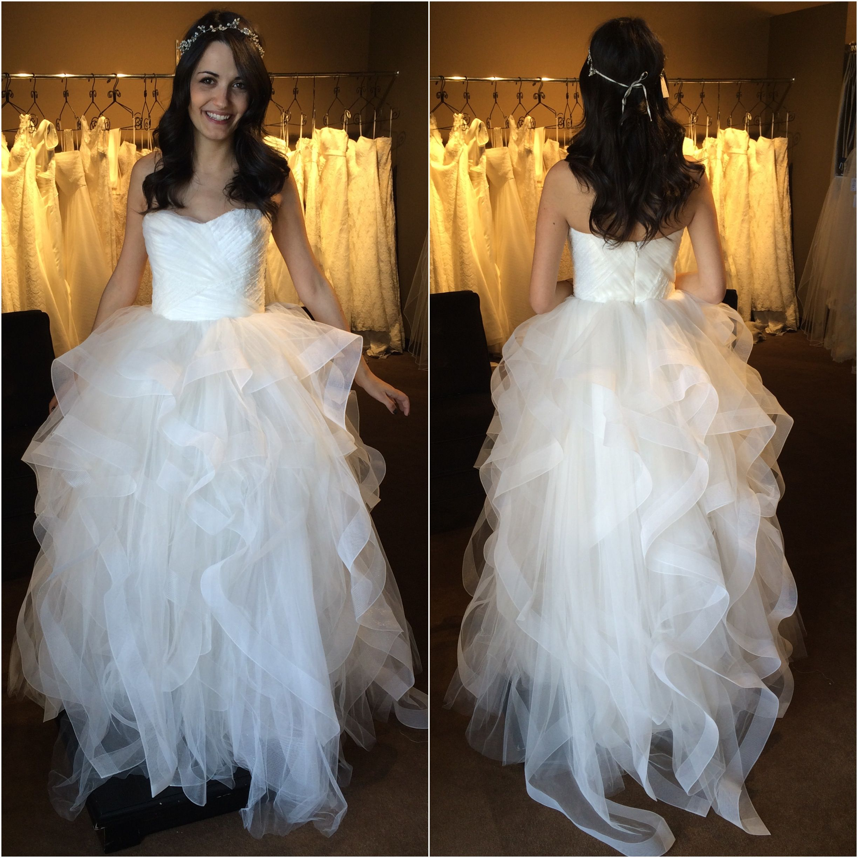 The Reem Acra Eliza Gown At Little White Dress Bridal Shop