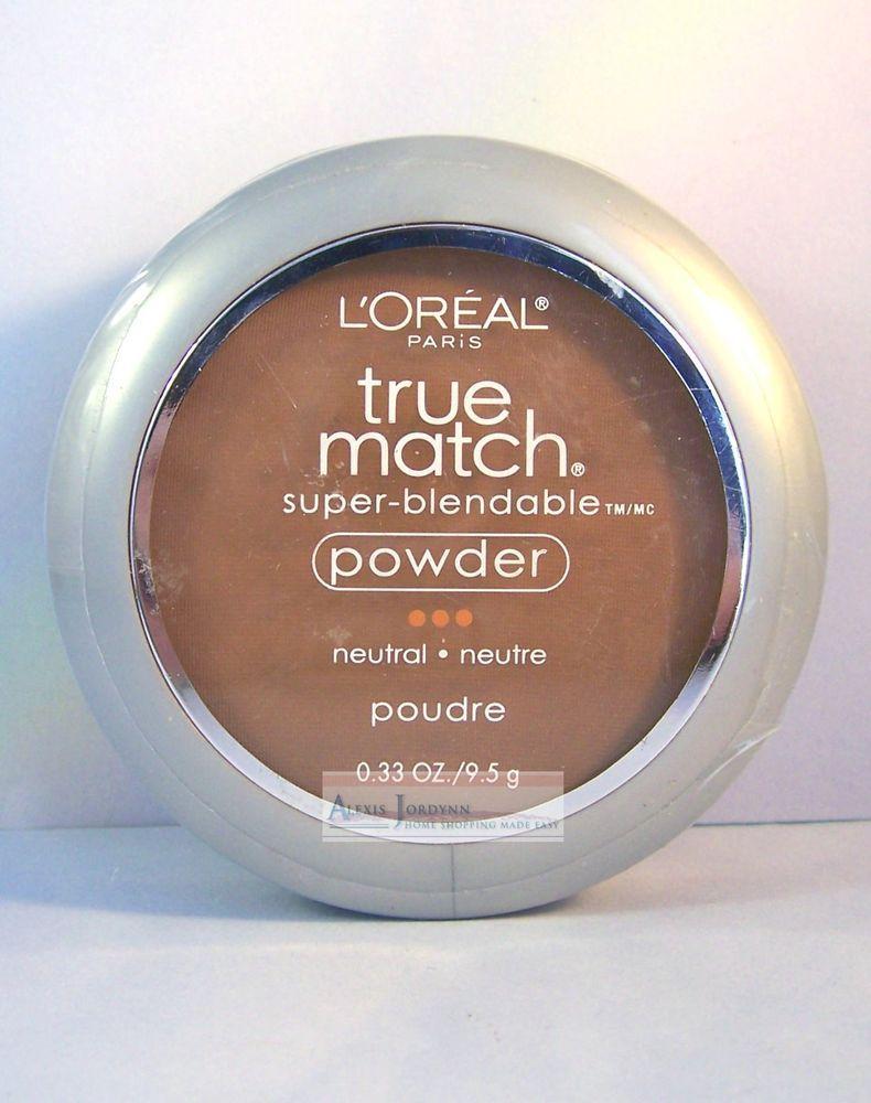 3 Loreal True Match Super Blendable Pressed Powder / Warm