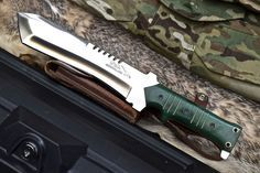 CFK USA iPak Survival Custom Handmade D2 Machete Military Tactical Tanto Knife #CFKCutleryCo
