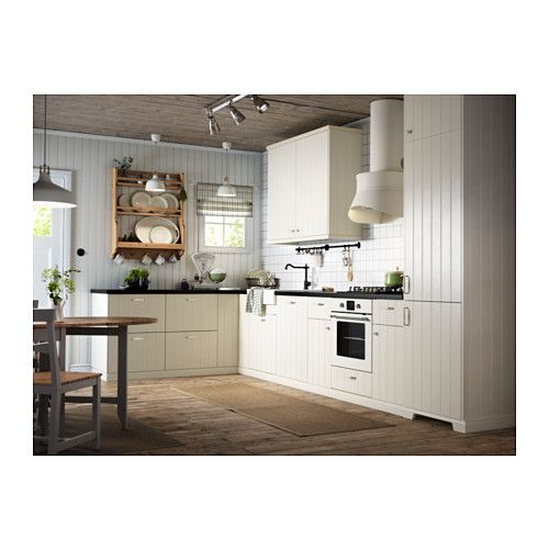 HITTARP Door Off-white 60x80 cm | Base cabinets, Doors and Kitchens | {Moderne landhausküche ikea 15}