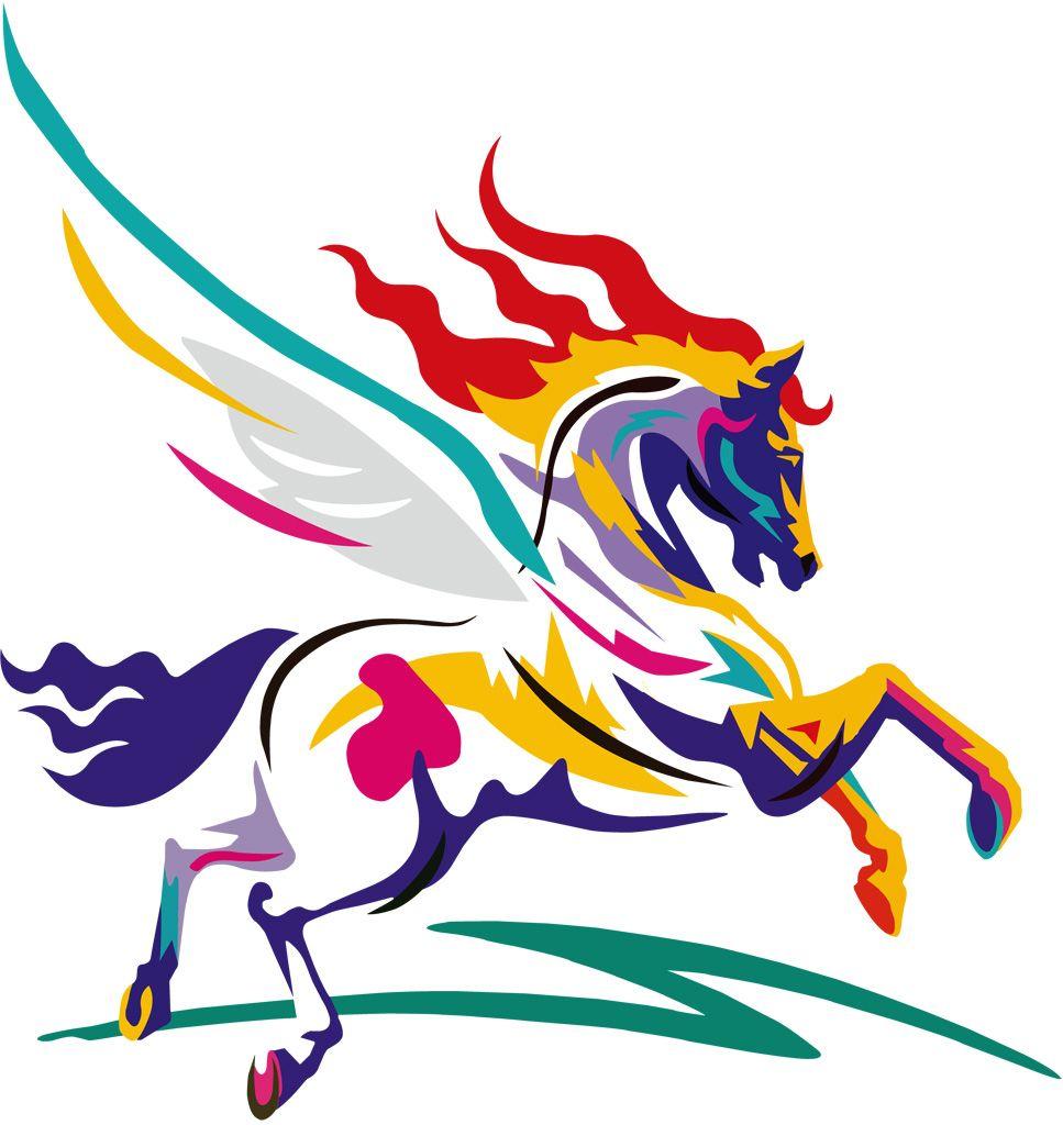 2018 年の「馬 / ウマ - gatag|フリーイラスト素材集 | デザイン」 | 馬
