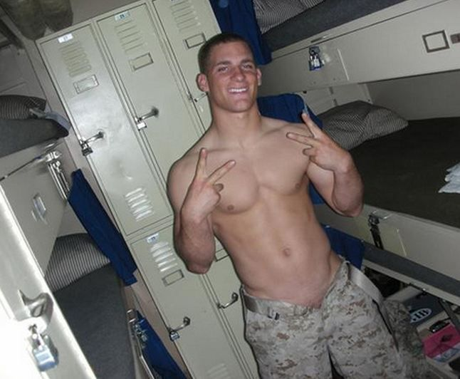 Hot naked marines remarkable