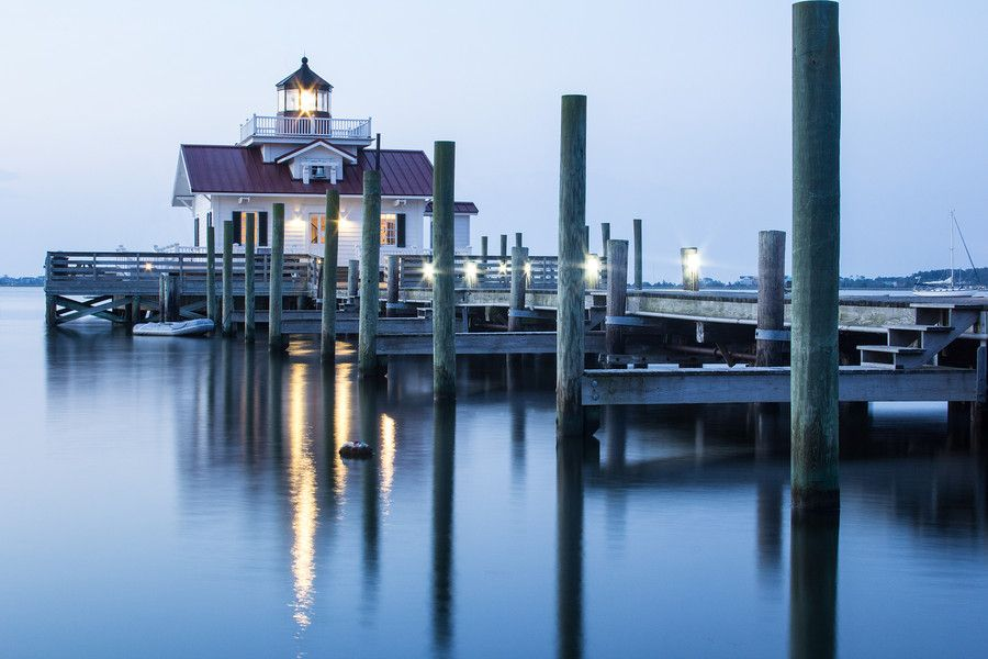 Roanoke Marshes Lighthouse by Alex Heyer on 500px