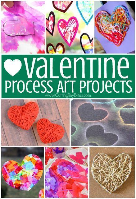Valentine S Day Process Art Activities Valentines Art Valentine