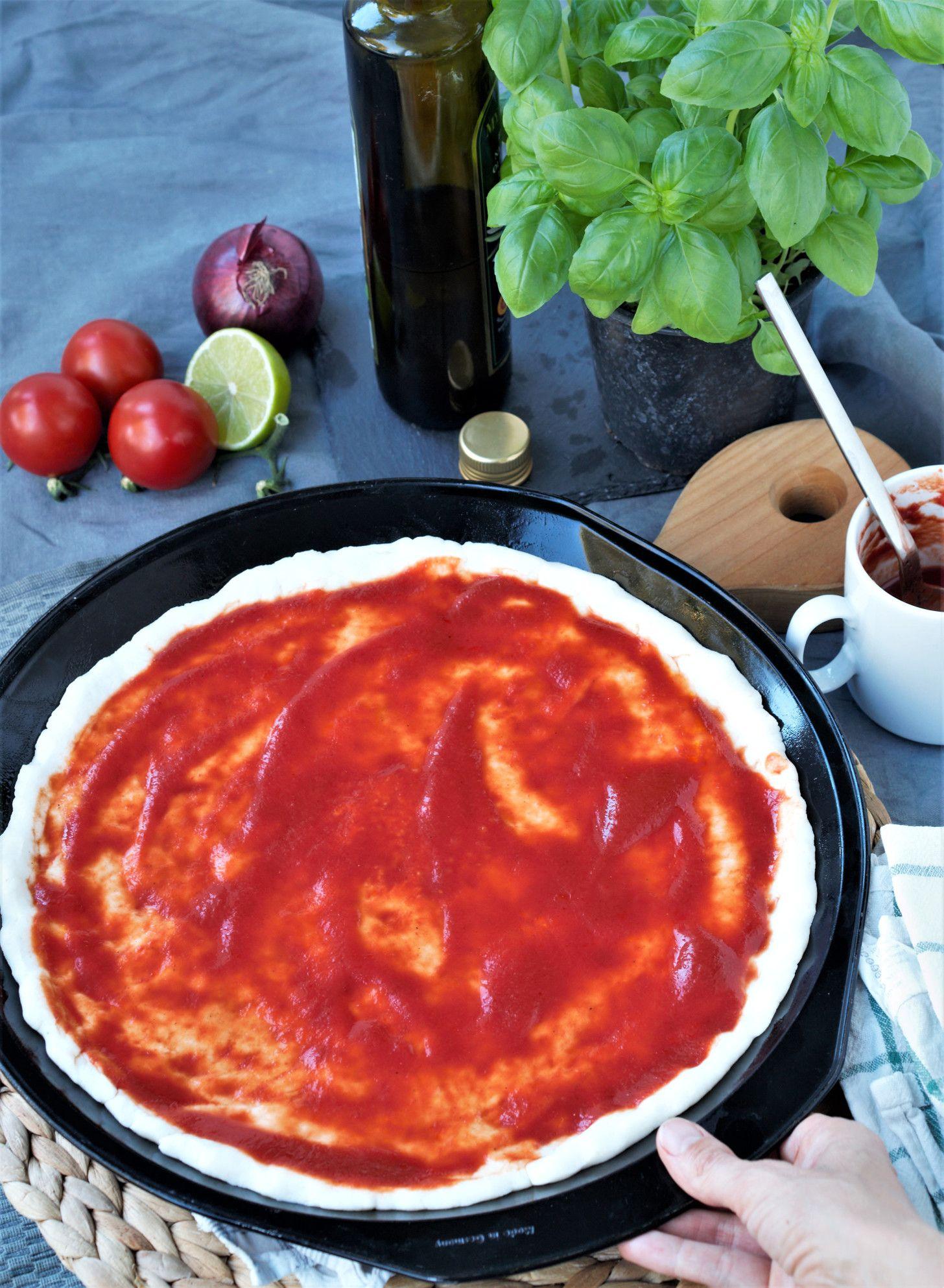 Glutenfreier Pizzateig #glutenfreierezepte