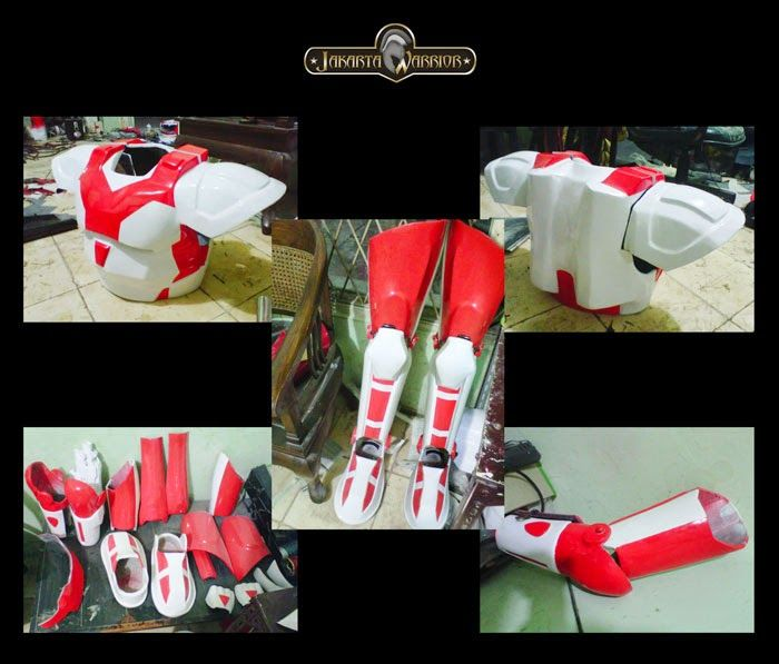 Jakarta Warrior Costume Maker Robot Red7 For Trans TV : custom costume maker  - Germanpascual.Com