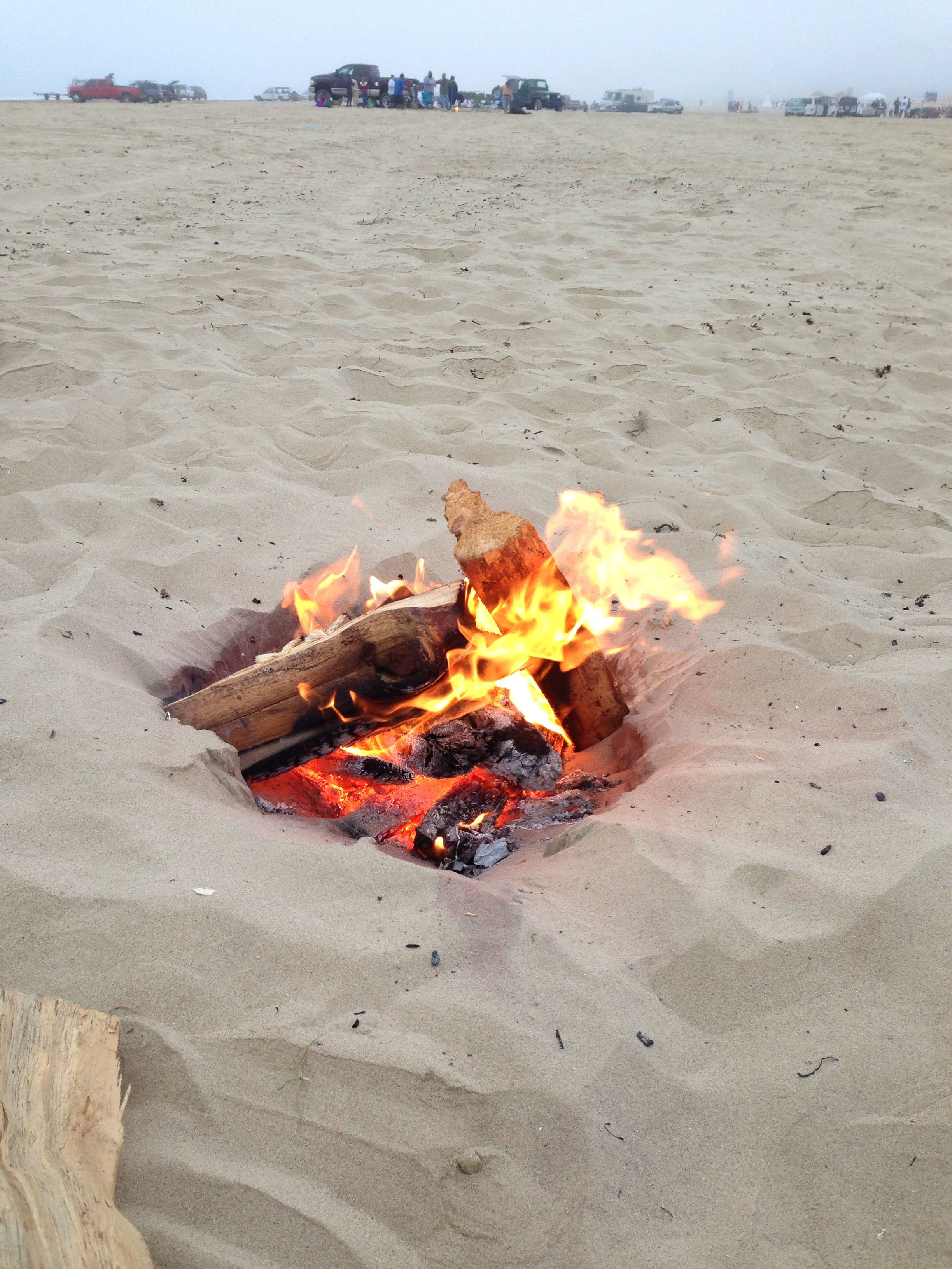 Bonfire Oceano Dunes California Pismo Beach Paradise On Earth Dune