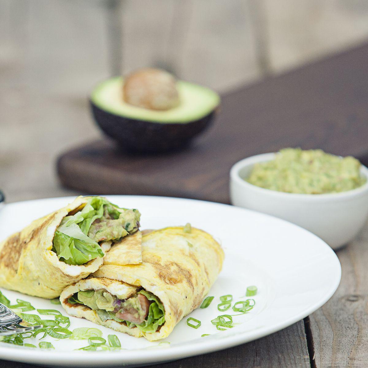 Wheatgrass Avocado Wraps – Organic Burst®