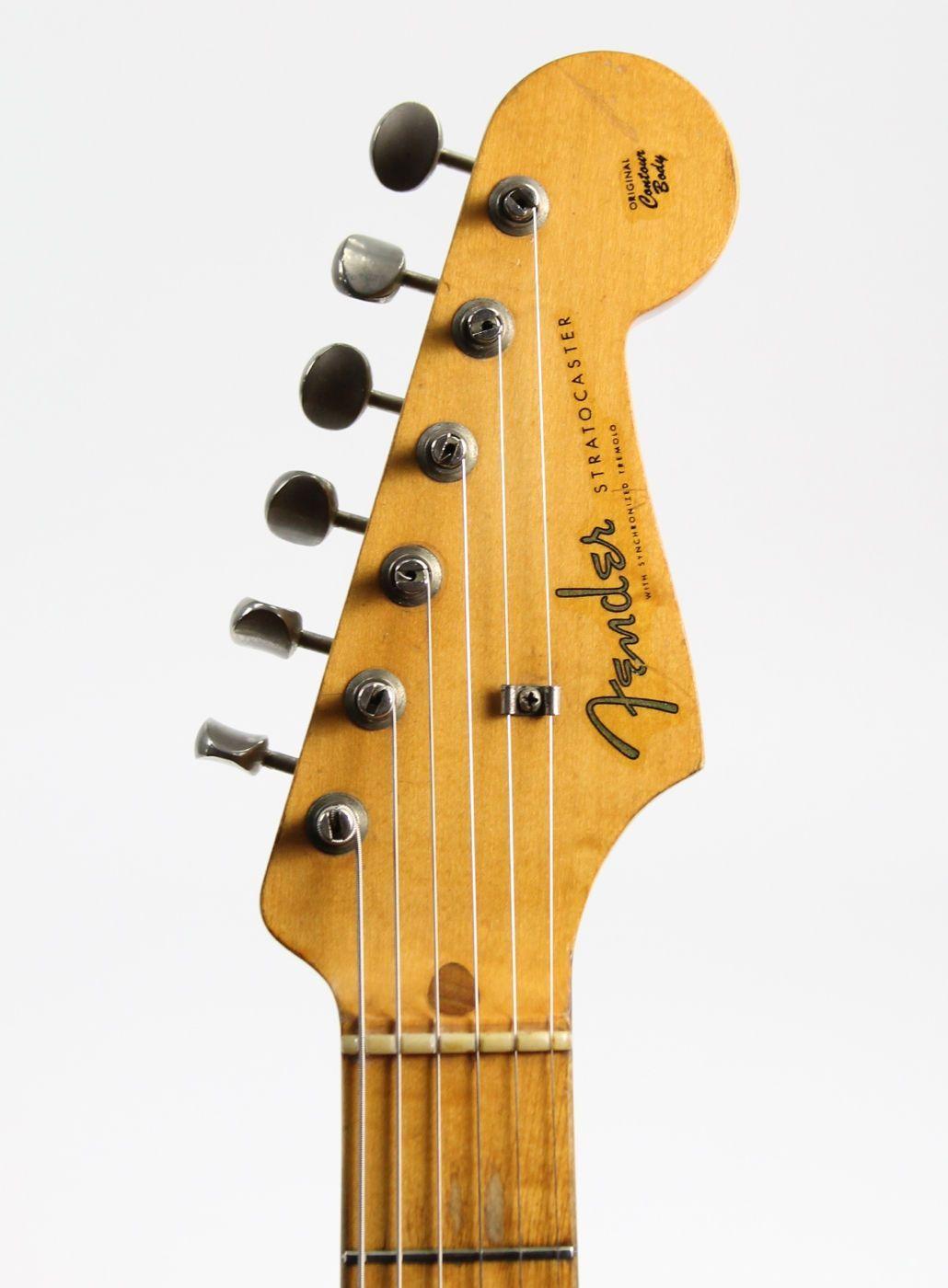 Fender stratocaster 1957 headstock fenderguitars fender
