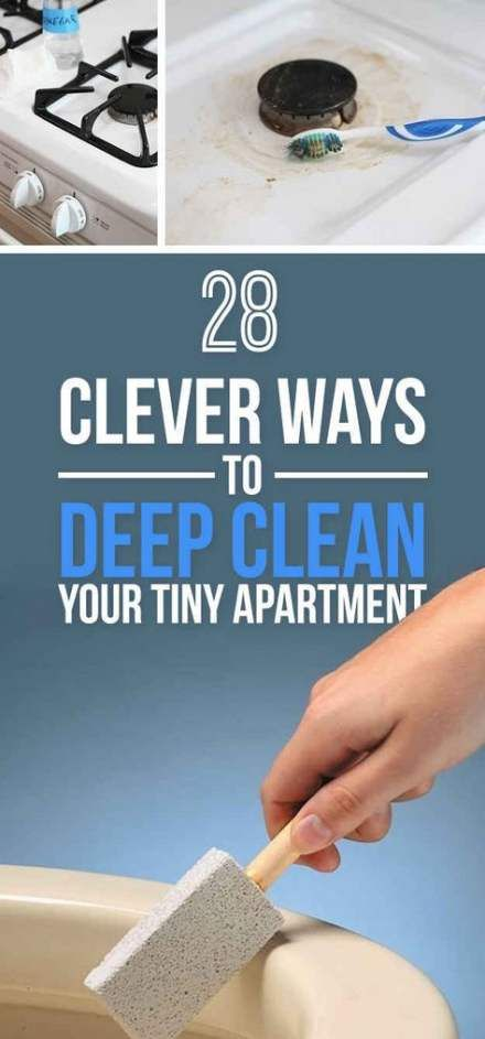 Best apartment tiny buzzfeed ideas   Cleaning hacks, Deep ...