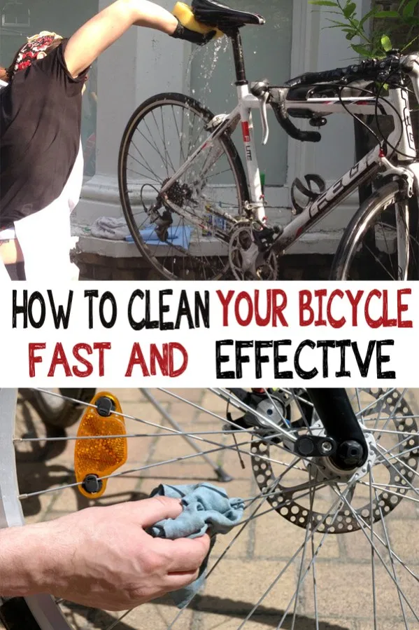 How To Clean Your Bicycle Fast And Effective Bicycle Cleaning