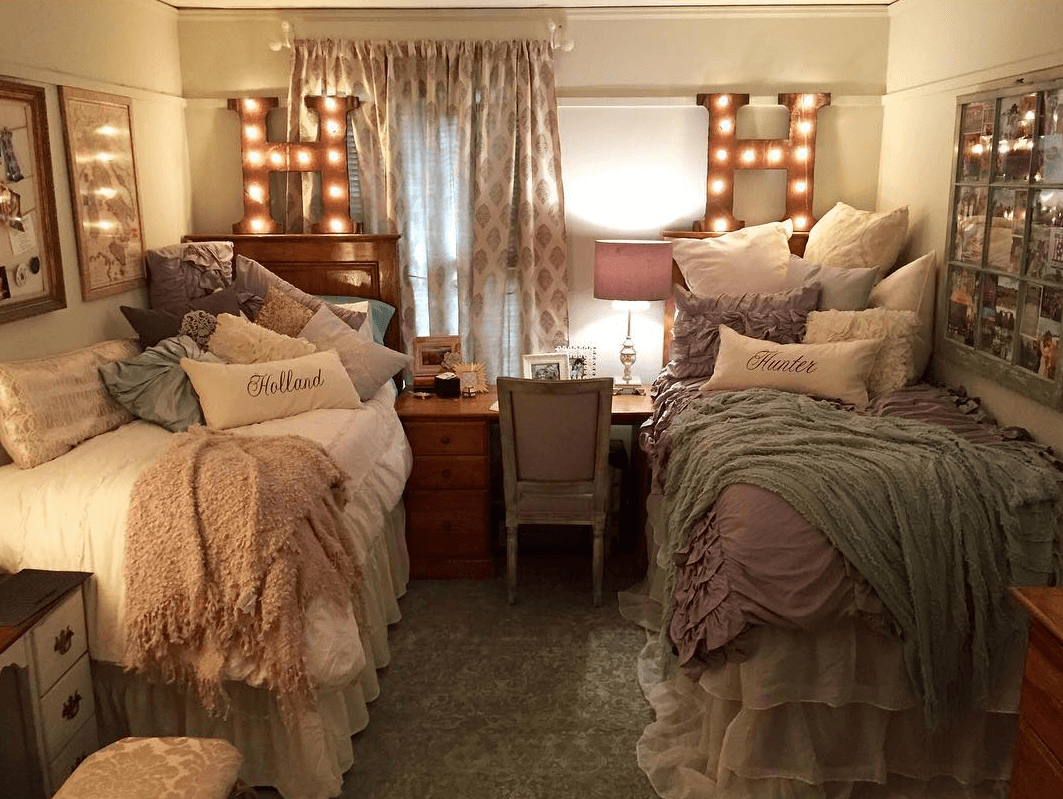 That decadent dorm room doesn t have to cost you a fortune - Dorm room bedding ideas ...