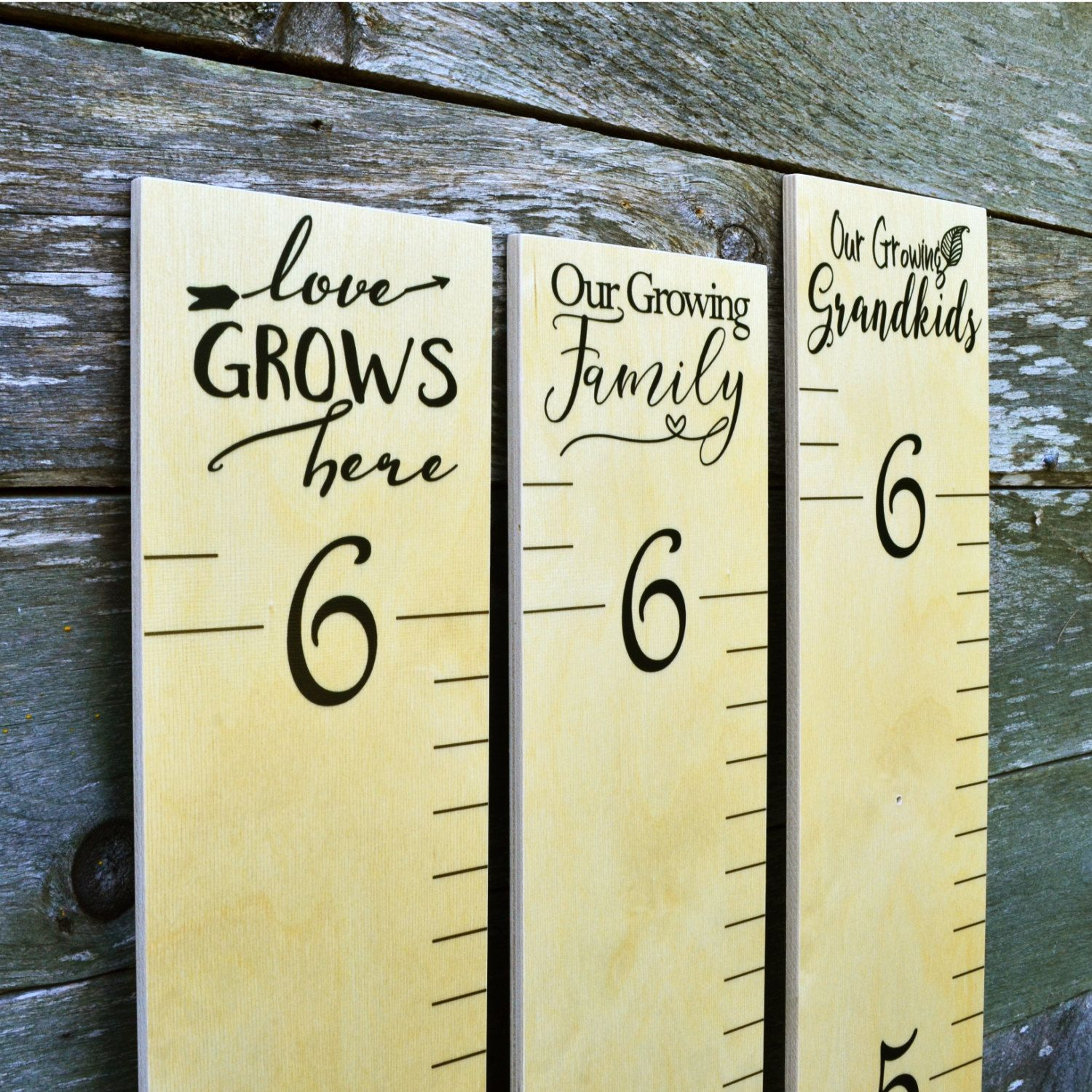 Wooden ruler growth chart kids wood height chart wall hanging wooden ruler growth chart kids wood height chart wall hanging ruler love grows nvjuhfo Images