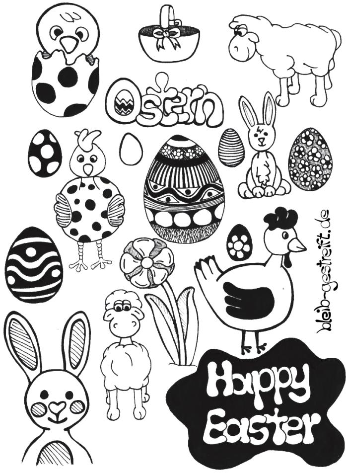 Doodles zeichnen - Viele Vorlagen für deine Inspiration ...