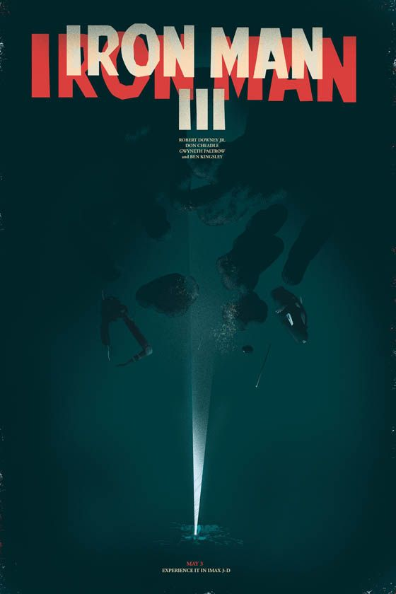 Fan Made Iron Man 3 Alternate Poster | Iron Man | Pinterest | Movie