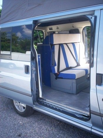 Ford Transit Westfalia Nugget Elevating Roof Camper Van Caravanas
