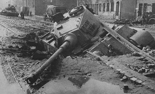 King Tiger in Gdańsk