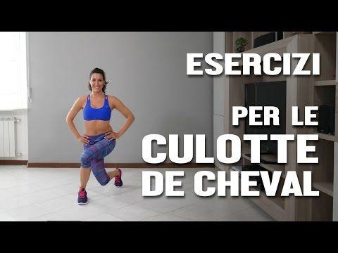 Esercizi per dimagrire le gambe : interno esterno coscia - YouTube