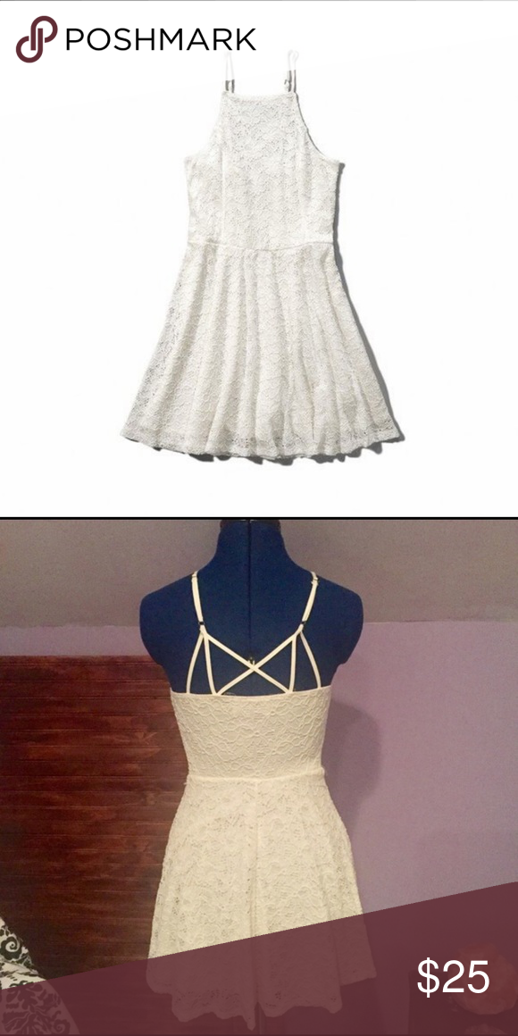5b9d94582 Abercrombie & Fitch Lace Skater Dress Size XS Never worn Abercrombie & Fitch  Dresses