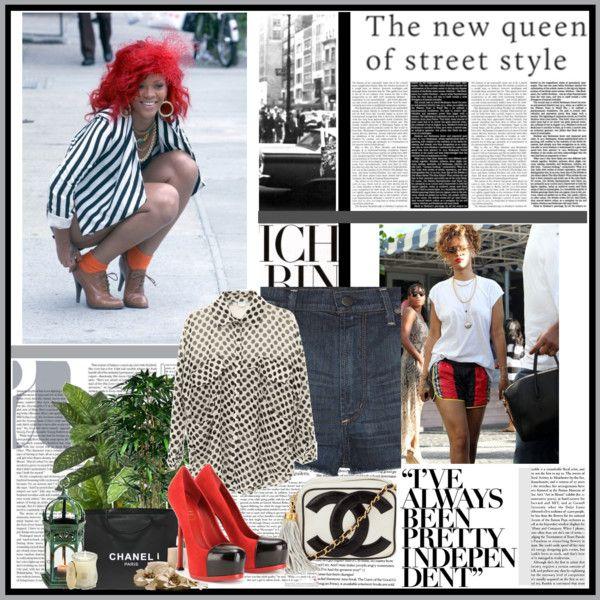 Weekend Street Style: Rihanna