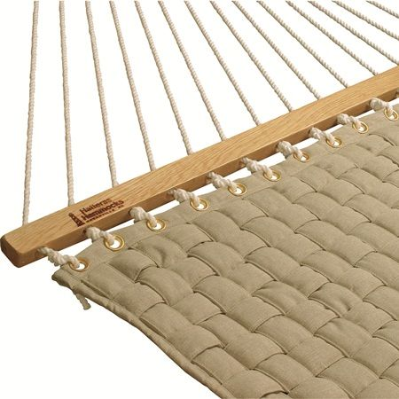 Hatteras Large Softweave Quilted Flax Hammock Furniture
