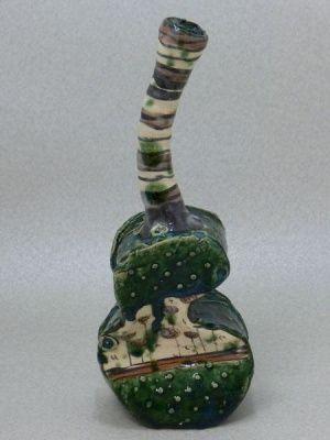 Works and shops of craftsmen potter - flower vase - vase Works Aaron Scythe