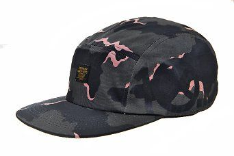 10 Deep `Ironsides` 5Panel Cap (Navy Chipless Camo) at chemicaluk.com