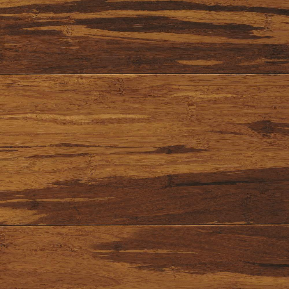 Home Decorators Collection Strand Woven Honey Tigerstripe 3 8 In T X 5 1 8 In W X 72 In L Engineered Click Bamboo Flooring In 2020 Flooring Hardwood Home Depot