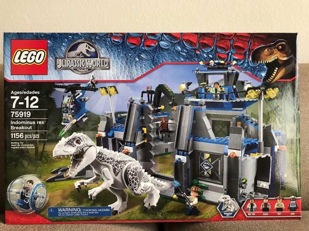 Dinosaur LEGO SET Jurassic World Park 75919 White
