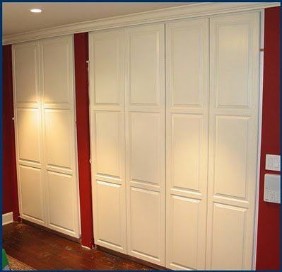 Closet doors sliding raised panel sliding closet doors - Bedroom cabinets with sliding doors ...
