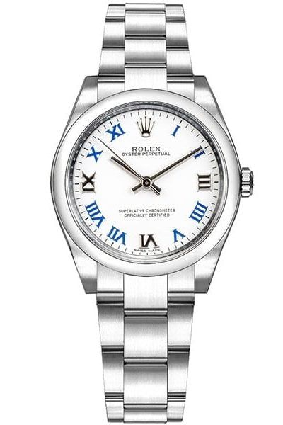 74aa734ab40 Rolex Air-King Oyster Perpetual Mens Luxury Watch 114200-BLUOACO ...
