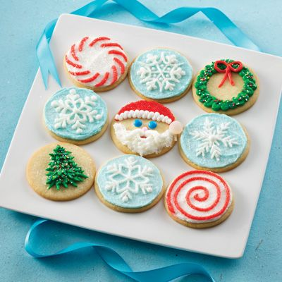 christmas cookies decorations with round cookies | 10 Best Christmas Cookie Decoration Ideas  sc 1 st  Pinterest & 10 Best Christmas Cookie Designs and Decoration Ideas for you ...