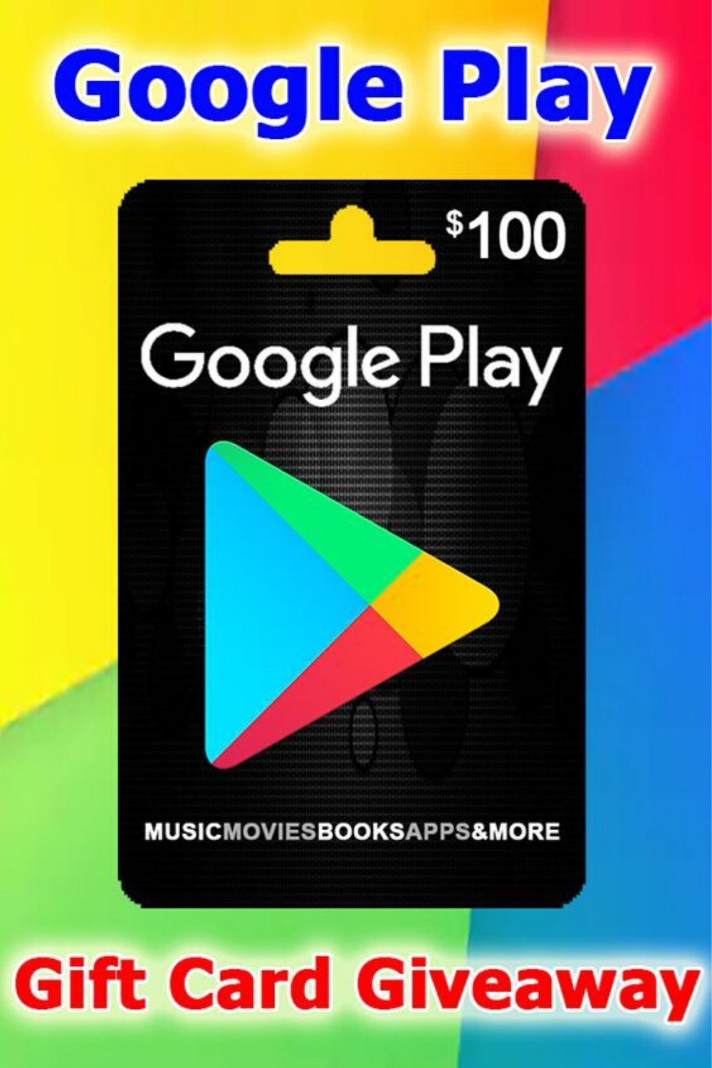 Get A 100 Google Play Gift Card Only For Usa Googleplay Google Google Play Gift Card Google Play Codes Itunes Gift Cards