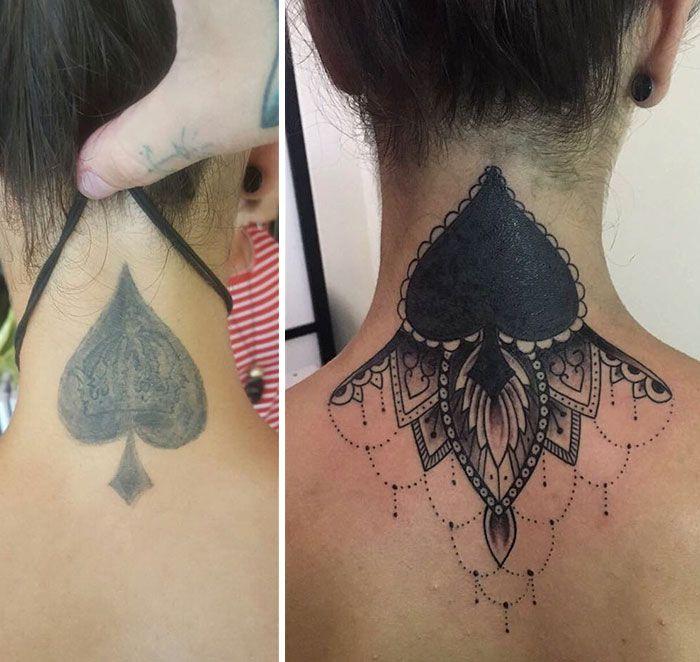 Tattoo Fix Tatuagens Up Tatuagem Coberta
