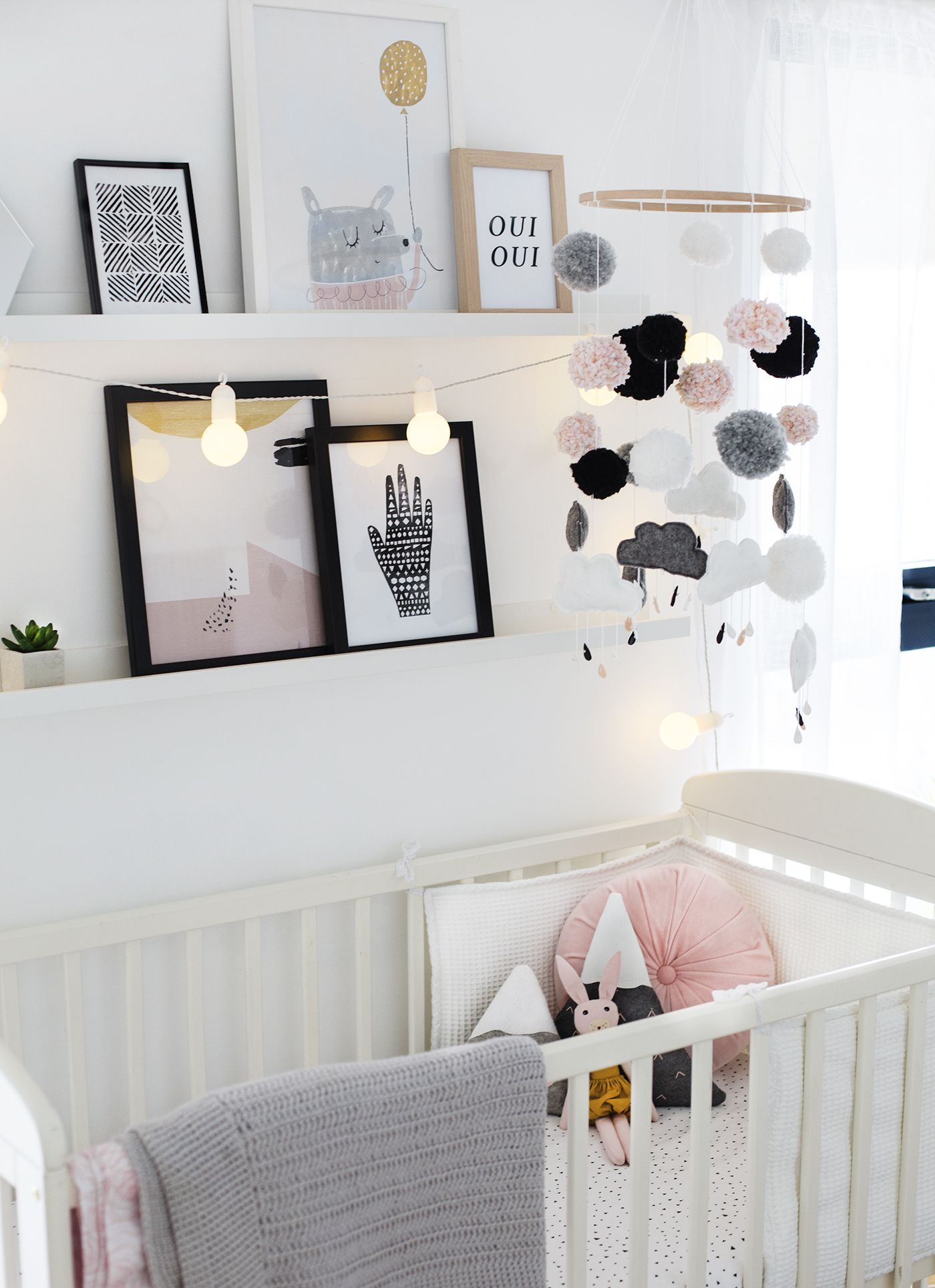 Nursery Tour (The Lovely Drawer) Baby decor, Baby room