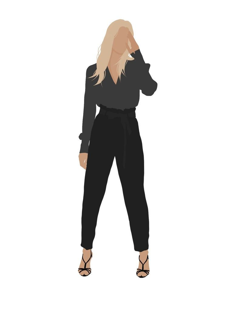 8 People Package Vector Clipart Png Ai Human Person Illustration Woman Man Party In 2021 People Illustration Fashion Illustration People Png