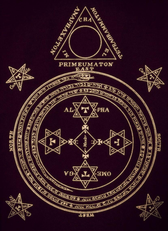 ʕ •ᴥ•ʔ ~♡ — The Magical Circle of King Solomon Occult