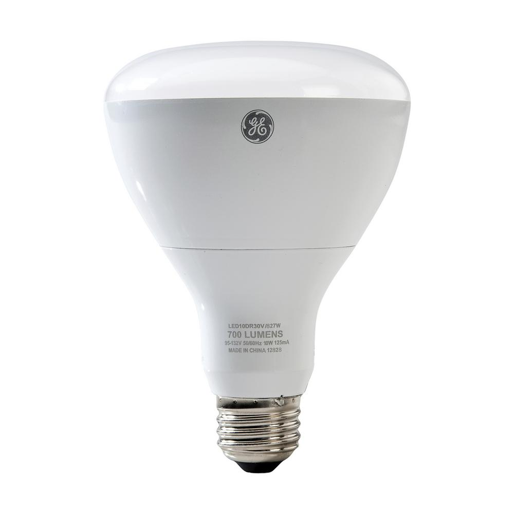 Ge 65w Equivalent Daylight 5000k High Definition Br40 Dimmable