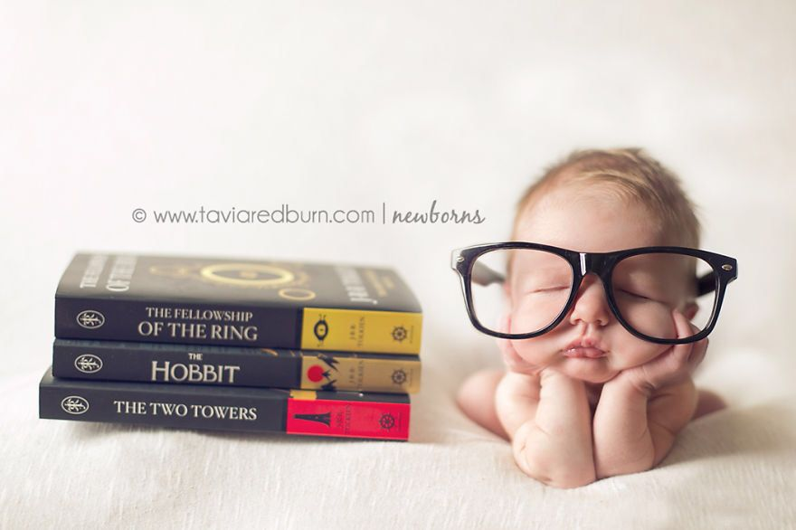 eyeglasses diy baby photography props