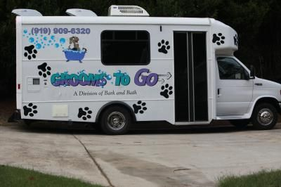 Grooms To Go Mobile Grooming Raleigh Nc Mobile Pet Grooming