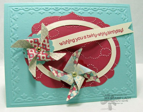 Pinwheel Wishes by cmstamps - Cards and Paper Crafts at Splitcoaststampers