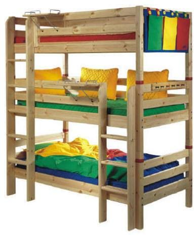 Conserving Room As Well As Staying Trendy With Triple Bunk Beds Na